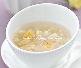 止咳润肺汤:川贝雪梨汤的做法