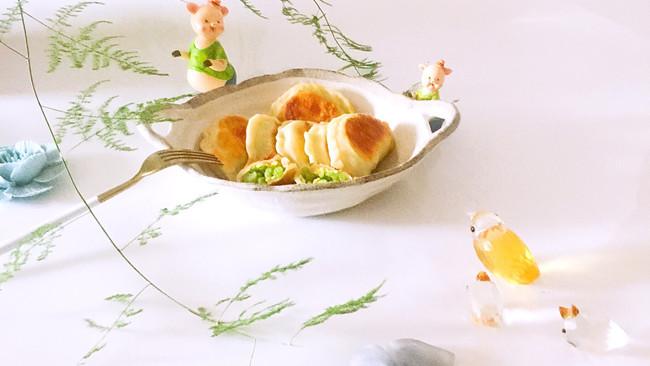 芹菜鸡蛋馅盒子#kitchenAid的美食故事#的做法