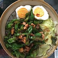 青椒肉丝煲仔饭(一个人也要好好吃饭)的做法图解10