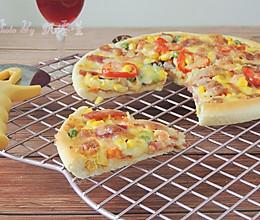 香菇培根披萨的做法