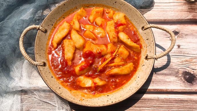 汤汁鲜美的番茄龙利鱼