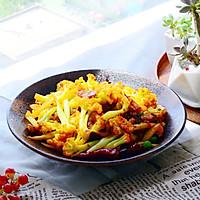 五花肉干煸有机花菜-在家做出饭店的味道#一机多能 一席饪选#的做法图解23