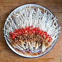 蒜蓉粉丝蒸金针菇——快手下饭就靠它的做法图解13