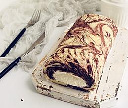 水墨奶油卷#做道好菜,自我宠爱!#的做法
