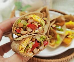 低脂又饱腹的减脂荞麦鸡肉卷