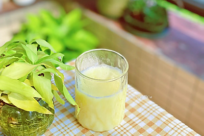 营养健康黄豆玉米豆浆