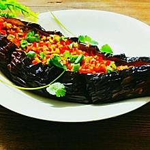 蒜香烤茄子~烧烤人气王