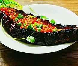 蒜香烤茄子~烧烤人气王的做法