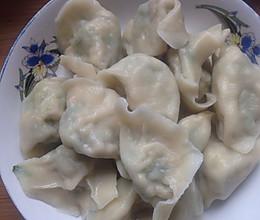 苦菊水饺的做法