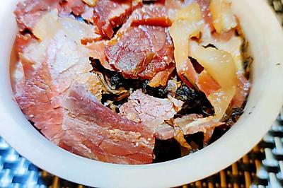 火腿肉炖梅干菜