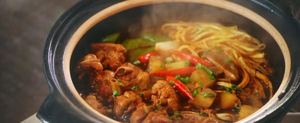 黄焖鸡米饭 日食记