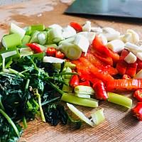 彩椒鲜香鱼头炖豆腐的做法图解4