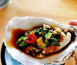 #我们约饭吧#蒸生蚝的做法