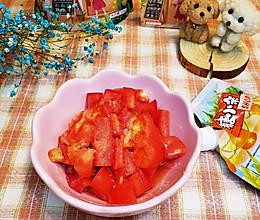 儿时的最爱❤️酸酸甜甜糖腌西红柿的做法