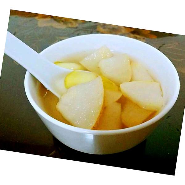 水果汤(苹果、梨)的做法