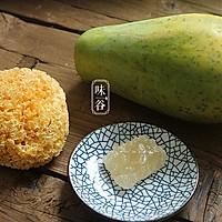 木瓜炖银耳#舌尖上的春宴#的做法图解1