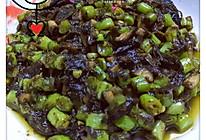 橄榄菜四季豆的做法