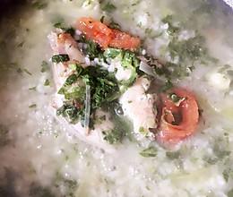 扒皮鱼汤泡饭的做法