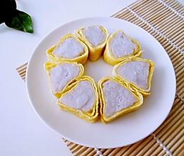 芋头蛋卷的做法