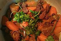 胡萝卜炖牛肉的做法