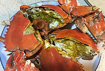 盐焗黄油蟹的做法