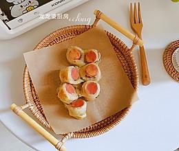 #入秋滋补正当时#手抓饼版【香肠饼】的做法