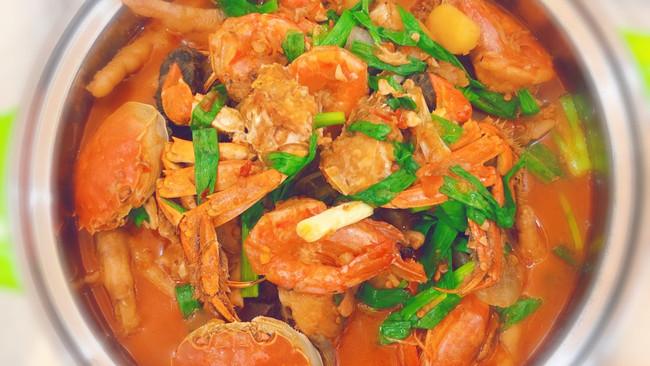 家庭版/香辣蟹煲的做法