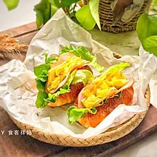 #快手又营养,我家的冬日必备菜品#日式盐面包,酥脆绵软