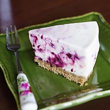桑葚希腊酸奶慕斯蛋糕(免烤版)