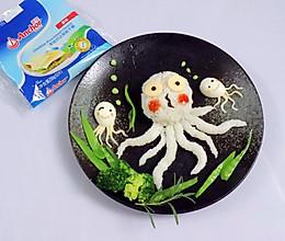 #安佳儿童创意料理#章鱼饭团的做法