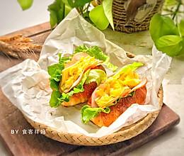 #快手又营养,我家的冬日必备菜品#日式盐面包,酥脆绵软的做法