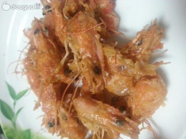 油炸虾头的做法