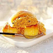 #美食新势力#蒜味酱肉松面包