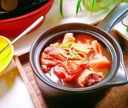 超级方便的莲藕筒骨汤#秋天怎么吃#的做法