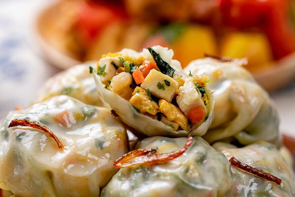 快手营养又低脂,刷爆全网的早餐【蔬菜蒸包】!