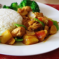 营养快手菜--咖喱鸡肉饭的做法图解9