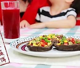 黑豆杂蔬饼—爱的味道的做法