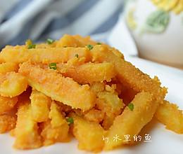 咸蛋黄焗红薯