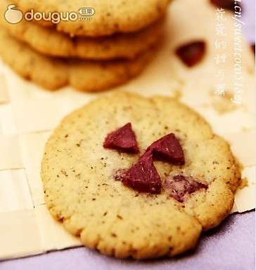 美白明目乌发的饼干的做法