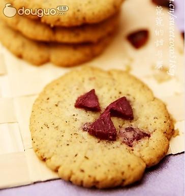 美白明目乌发的饼干