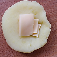 烤箱无油版-芝士土豆球的做法图解5