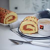 香葱肉松蛋糕卷的做法图解17