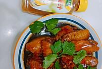 #太太乐鲜鸡汁玩转健康快手菜#蒜香蜜汁鸡翅的做法