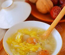 甜酒桂圆冲鸡蛋—冬季暖身的做法