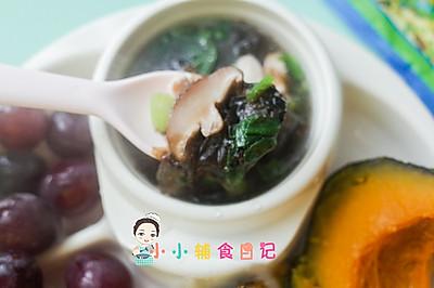 12个月以上紫菜鸡肉汤