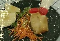 #321沙拉日#鳕鱼沙拉的做法