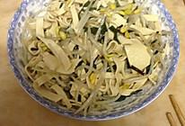 千张炒豆芽韭菜的做法
