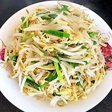 #《风味人间》美食复刻大挑战#干豆腐炒豆芽