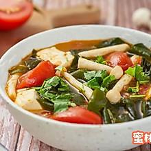 西紅柿裙帶菜湯