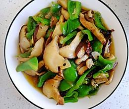 #节后清肠大作战#香菇炒青椒的做法